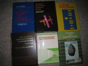 Old/Used Textbooks – Computer Science