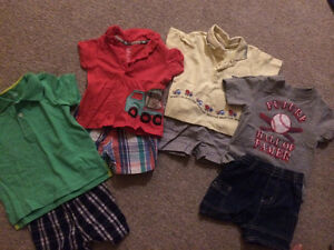 Brand new boys matching summer outfits