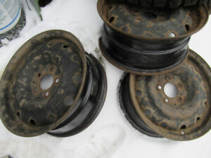 4  16 inch honda civic rims only tire were bad $160.00 x42655