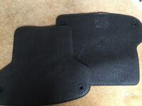 Audi A3 rear mats