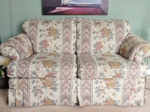 COUCH AND LOVE SEAT (SKLAR-PEPPLER)