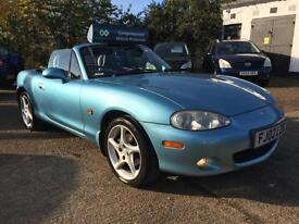 2002 Mazda MX-5 1.8i Sport Convertible Full Service History 12 Months Mot