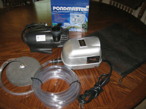 smart pond waterfall pump and pondmaster air pump