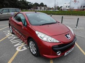 Peugeot 207 CC 1.6 16v 120 Coupe Sport ONLY 51293 MILES