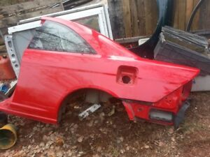 2001-2002-2003-2004-2005 Honda civic coupe 2 porte
