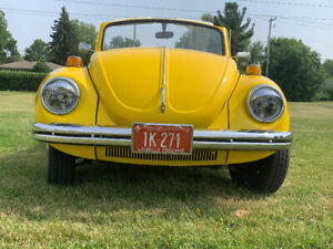 VW Super Beetle 72 Convertible