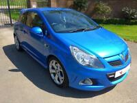 2008 Vauxhall Corsa 1.6 i Turbo 16v VXR 3dr Manual Hatchback in Blue