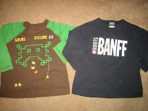 Boys Size 4 Long Sleeve Shirts