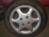 "Ford 14"" alloy wheels"
