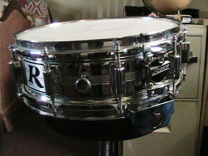 "Rogers' Flagship70's""Heavy Brass""DYNASONIC Snare drum Looks New!"