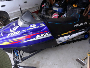 "700 SKS Polaris. Almost brand new 2"" track"