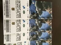 4 Lions vs Jets tickets Cheap