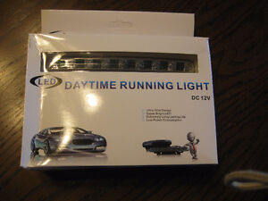 Mustang GT running fog lights lamps led, universal fit