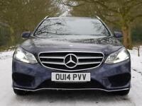 2014 14 Mercedes-Benz E220 2.1CDI 7G-Tronic Plus AMG Sport Estate..STUNNING !!