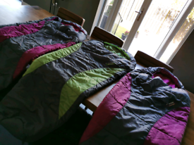 Camping Children's / kids sleeping bags mummy style x3