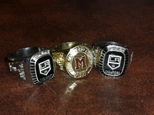 $10 Replica Hockey Rings