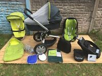 Quinny Buzz 3 Complete Travel System in Fresh Green