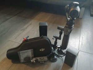 DJI Osmo+ with accessories