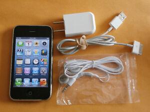 Apple iPhone 3GS - 8GB - Black (TELUS) Smartphone Kitchener / Waterloo Kitchener Area image 1