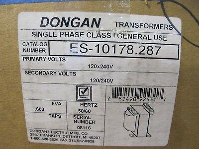 Dongan .600 Kva 1 Phase 120240 X 120240 Volt Transformer - T323