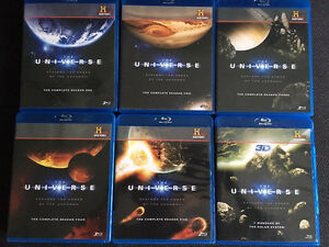 Universe Blu-Ray collection