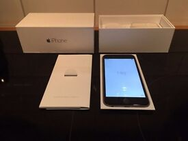 iphone 6 64GB Boxed with brand new original plugs, cable, earphones and manual