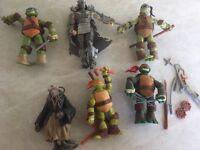Teenage mutant ninja turtle figures