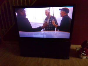 "55"" Rear Projection TV"