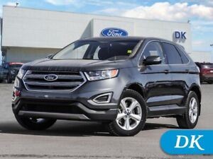 2016 Ford Edge SEL  201A w/Leather, Moonroof, Nav, and More!