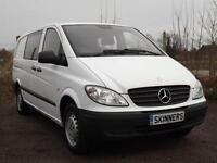 Mercedes-Benz Vito 111 Cdi LWB Dualiner Price is plus VAT DIESEL MANUAL 2010/10