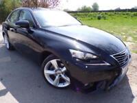 2013 Lexus IS 300h Premier 4dr CVT Auto Low Miles! Cooled Seats! 4 door Saloon