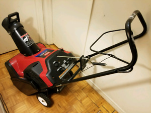 Toro 6.5 hp 2 cycle snow blowers