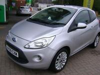 Ford Ka 1.3TDCi 2009MY Zetec FIVE SERVICE STAMPS