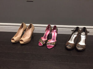 Closet Clean-out - Women's Shoes and Accessories