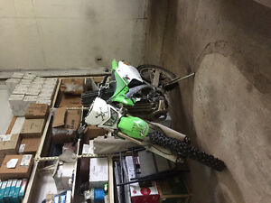 Swap trade 2007klx450r 2007 no papers !!!