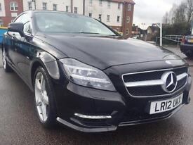 2012 Mercedes-Benz CLS 3.0 CLS350 CDI BlueEFFICIENCY AMG Sport 7G-Tronic