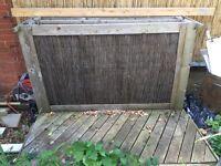 Decking garden bar 130 deep X 185 cm length hand crafted