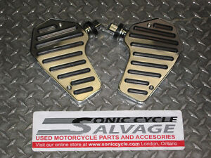 honda vt-750 shadow rear passenger floorboards