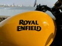 Royal Enfield Meteor 350 Fireball. Classic Retro custom Cruiser Motorbike