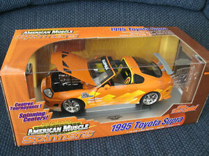 1995 TOYOTA SUPRA SPINNERS ERTL AMERICAN MUSCLE COLLECTIBLES