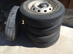 """12"""" rims and tires"""