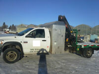 2008 Dodge Ram 5500 4 x 4 Picker Truck with Sleeper