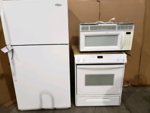 Used white 3 pc kitchen package