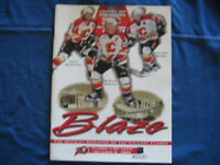 1999 CALGARY FLAMES AND ST.LOUIS BLUES HOCKEY PROGRAM