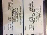 X2 Drake tickets for Leeds arena wanting to swap for Sheffield