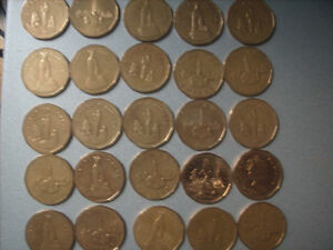Selling My Canadian 1 Dollar Coin Collection