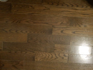 Select and better hardwood flooring