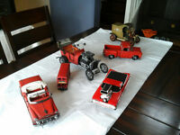 Die cast and Hand made Cars and Trucks