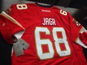 Jaromir Jagr Florida Panthers Autographed Jersey