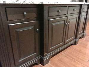 Custom made Maple Buffet/Hutch or Bar Kitchener / Waterloo Kitchener Area image 4